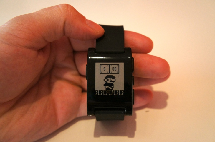 Mario Time Watch-Face